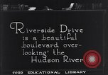 Image of Riverside Drive New York United States USA, 1921, second 3 stock footage video 65675036360