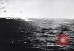 Image of Japanese kamikaze attacks on US Navy ships Pacific Ocean, 1945, second 5 stock footage video 65675036364