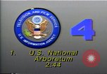 Image of United States' first National Arboretum Washington DC USA, 1990, second 3 stock footage video 65675036375