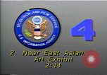 Image of East Asian Arts Exhibit Washington DC USA, 1990, second 3 stock footage video 65675036376