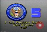 Image of new Air Force One plane Washington DC USA, 1990, second 1 stock footage video 65675036377