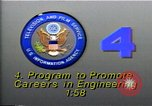 Image of career in Engineering United States USA, 1990, second 3 stock footage video 65675036378