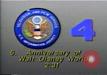 Image of 35th Anniversary of Disneyland California United States USA, 1990, second 3 stock footage video 65675036380