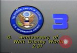 Image of 35th Anniversary of Disneyland California United States USA, 1990, second 4 stock footage video 65675036380