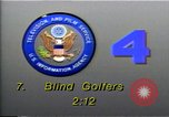 Image of National Blind Golf Championship Florida United States USA, 1990, second 3 stock footage video 65675036381