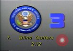 Image of National Blind Golf Championship Florida United States USA, 1990, second 4 stock footage video 65675036381