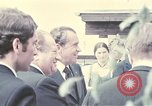 Image of President of United States Richard Nixon Salzburg Austria, 1972, second 8 stock footage video 65675036391