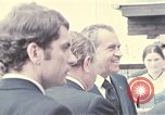 Image of President of United States Richard Nixon Salzburg Austria, 1972, second 12 stock footage video 65675036391
