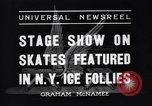 Image of New York Ice Follies New York City USA, 1937, second 6 stock footage video 65675036426