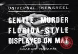 Image of Vintage professional wrestling 1930s Florida United States USA, 1937, second 1 stock footage video 65675036427