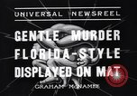 Image of Vintage professional wrestling 1930s Florida United States USA, 1937, second 4 stock footage video 65675036427