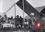 Image of U.S. Army 1st Cavalry Division officers eat at the Officer's field mes Marfa Texas USA, 1923, second 5 stock footage video 65675036449