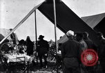 Image of U.S. Army 1st Cavalry Division officers eat at the Officer's field mes Marfa Texas USA, 1923, second 7 stock footage video 65675036449