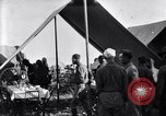 Image of U.S. Army 1st Cavalry Division officers eat at the Officer's field mes Marfa Texas USA, 1923, second 9 stock footage video 65675036449
