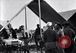 Image of U.S. Army 1st Cavalry Division officers eat at the Officer's field mes Marfa Texas USA, 1923, second 10 stock footage video 65675036449