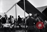 Image of U.S. Army 1st Cavalry Division officers eat at the Officer's field mes Marfa Texas USA, 1923, second 11 stock footage video 65675036449