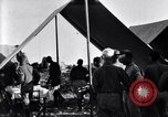 Image of U.S. Army 1st Cavalry Division officers eat at the Officer's field mes Marfa Texas USA, 1923, second 12 stock footage video 65675036449