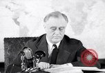 Image of President Franklin Roosevelt Washington DC USA, 1942, second 1 stock footage video 65675036455
