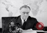 Image of President Franklin Roosevelt Washington DC USA, 1942, second 2 stock footage video 65675036455