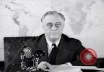 Image of President Franklin Roosevelt Washington DC USA, 1942, second 4 stock footage video 65675036455
