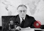 Image of President Franklin Roosevelt Washington DC USA, 1942, second 7 stock footage video 65675036455