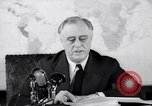 Image of President Franklin Roosevelt Washington DC USA, 1942, second 11 stock footage video 65675036455