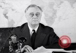 Image of President Franklin Roosevelt Washington DC USA, 1942, second 3 stock footage video 65675036456