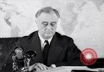 Image of President Franklin Roosevelt Washington DC USA, 1942, second 4 stock footage video 65675036456