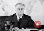 Image of President Franklin Roosevelt Washington DC USA, 1942, second 8 stock footage video 65675036456