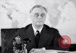 Image of President Franklin Roosevelt Washington DC USA, 1942, second 2 stock footage video 65675036457