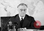 Image of President Franklin Roosevelt Washington DC USA, 1942, second 4 stock footage video 65675036457