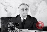 Image of President Franklin Roosevelt Washington DC USA, 1942, second 7 stock footage video 65675036457