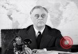 Image of President Franklin Roosevelt Washington DC USA, 1942, second 8 stock footage video 65675036457
