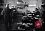 Image of White House Press Room Washington DC USA, 1937, second 2 stock footage video 65675036475