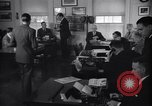 Image of White House Press Room Washington DC USA, 1937, second 9 stock footage video 65675036475