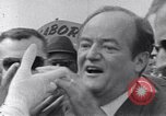 Image of Vice President Hubert Humphrey United States USA, 1968, second 8 stock footage video 65675036480