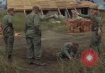 Image of 1st Air Cavalry Division soldiers Ankhe South Vietnam, 1966, second 9 stock footage video 65675036496