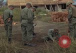 Image of 1st Air Cavalry Division soldiers Ankhe South Vietnam, 1966, second 11 stock footage video 65675036496