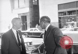 Image of Humphrey and 1968 Democratic National Convention leaders arrive Chicago Illinois USA, 1968, second 11 stock footage video 65675036505