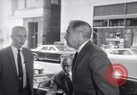 Image of Humphrey and 1968 Democratic National Convention leaders arrive Chicago Illinois USA, 1968, second 12 stock footage video 65675036505
