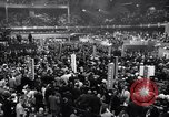 Image of Democratic National Convention speakers Chicago Illinois USA, 1968, second 2 stock footage video 65675036508