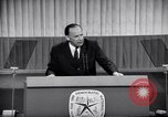 Image of Democratic National Convention speakers Chicago Illinois USA, 1968, second 5 stock footage video 65675036508