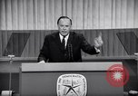 Image of Democratic National Convention speakers Chicago Illinois USA, 1968, second 8 stock footage video 65675036508