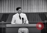 Image of Democratic National Convention speakers Chicago Illinois USA, 1968, second 12 stock footage video 65675036508