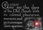 Image of cotton farming plantation Southern United States USA, 1922, second 7 stock footage video 65675036511
