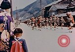 Image of ceremony of Cameron Highlanders Hiro Japan, 1946, second 4 stock footage video 65675036521