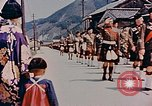 Image of ceremony of Cameron Highlanders Hiro Japan, 1946, second 12 stock footage video 65675036521