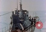 Image of HMIS SUTLEJ sinking Japanese submarine I-155 Japan, 1946, second 5 stock footage video 65675036522
