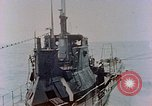 Image of HMIS SUTLEJ sinking Japanese submarine I-155 Japan, 1946, second 8 stock footage video 65675036522