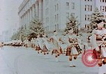 Image of British forces march at Japanese Imperial Palace Plaza Japan, 1946, second 5 stock footage video 65675036525